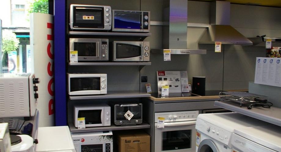 Comprar Electrodomsticos en Huesca. Electrodomsticos