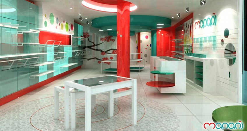 Proyecto mobiliario tienda infantil manani alhsur granada - Mobiliario infantil sevilla ...