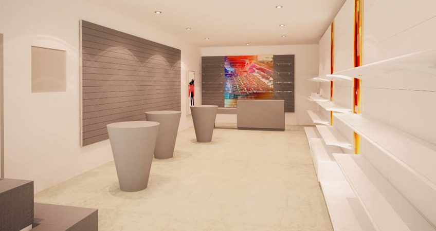 La importancia de la disposición del mobiliario en una tienda