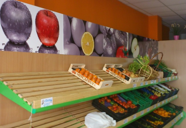 Estanter as para fruter as panatta mobiliario fruter as - Estanterias de pared infantiles ...