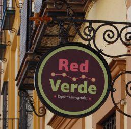 Red Verde Letrero