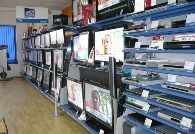 Estanter as tiendas electrodom sticos panatta mobiliario - Electrodomesticos de diseno ...