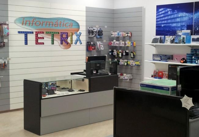 Mostradores para tiendas de inform tica mobiliario comercial - Disenos de mostradores ...