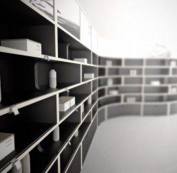 Mobiliario Farmacias Filo Madera