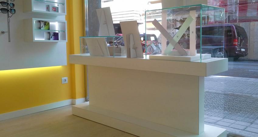 df4676ec07 Proyecto de Reforma Mobiliario Óptica Galdós en Bilbao