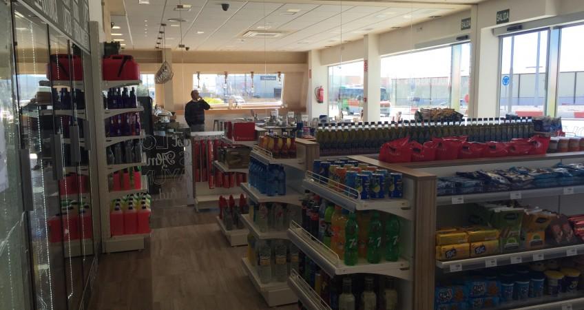 Equipamiento comercial de Gasolinera en Granada