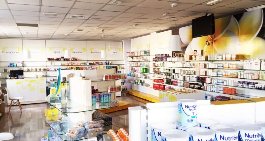 Proyecto Equipamiento Comercial para Farmacia en Fuente Vaqueros, Granada