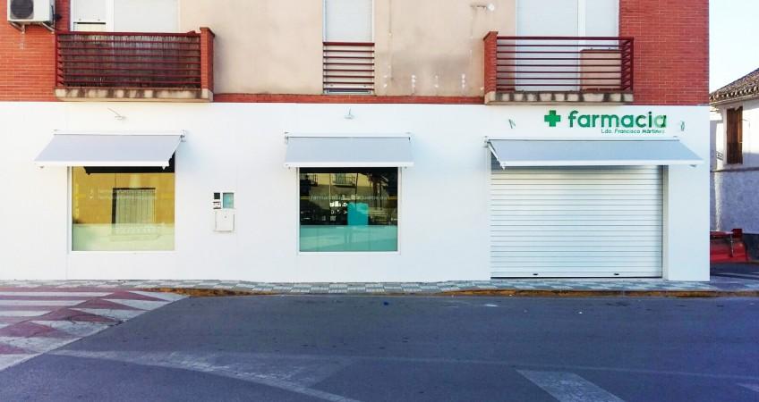 Proyecto Decoración de Farmacia en Fuente Vaqueros, Granada