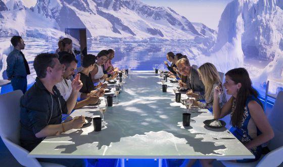 Restaurante Sublimotion de Paco Roncero, en Ibiza