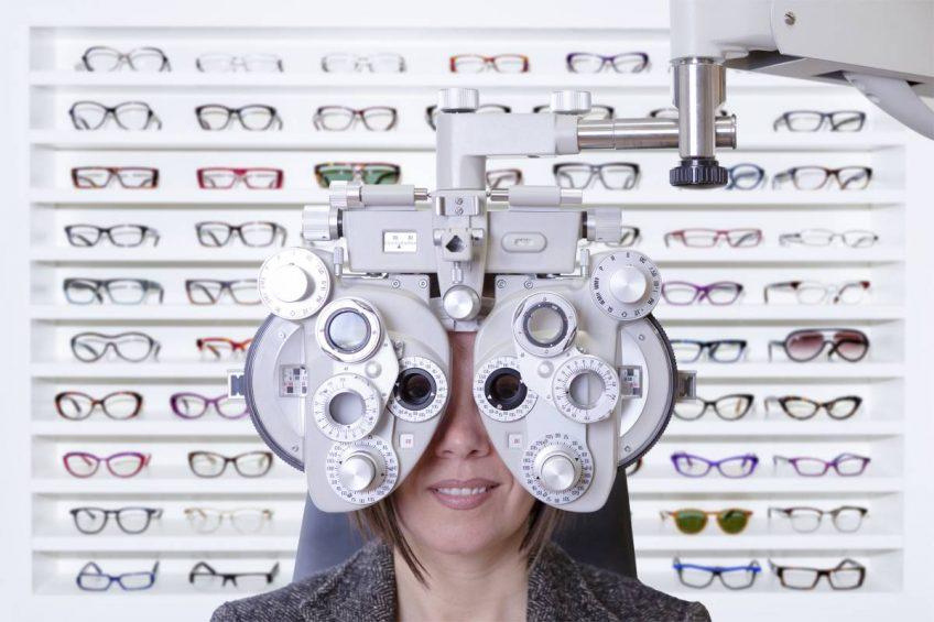 Decoración de ópticas con Pannata diseño comercial