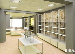 Interiorismo comercial y mobiliario modular para tiendas
