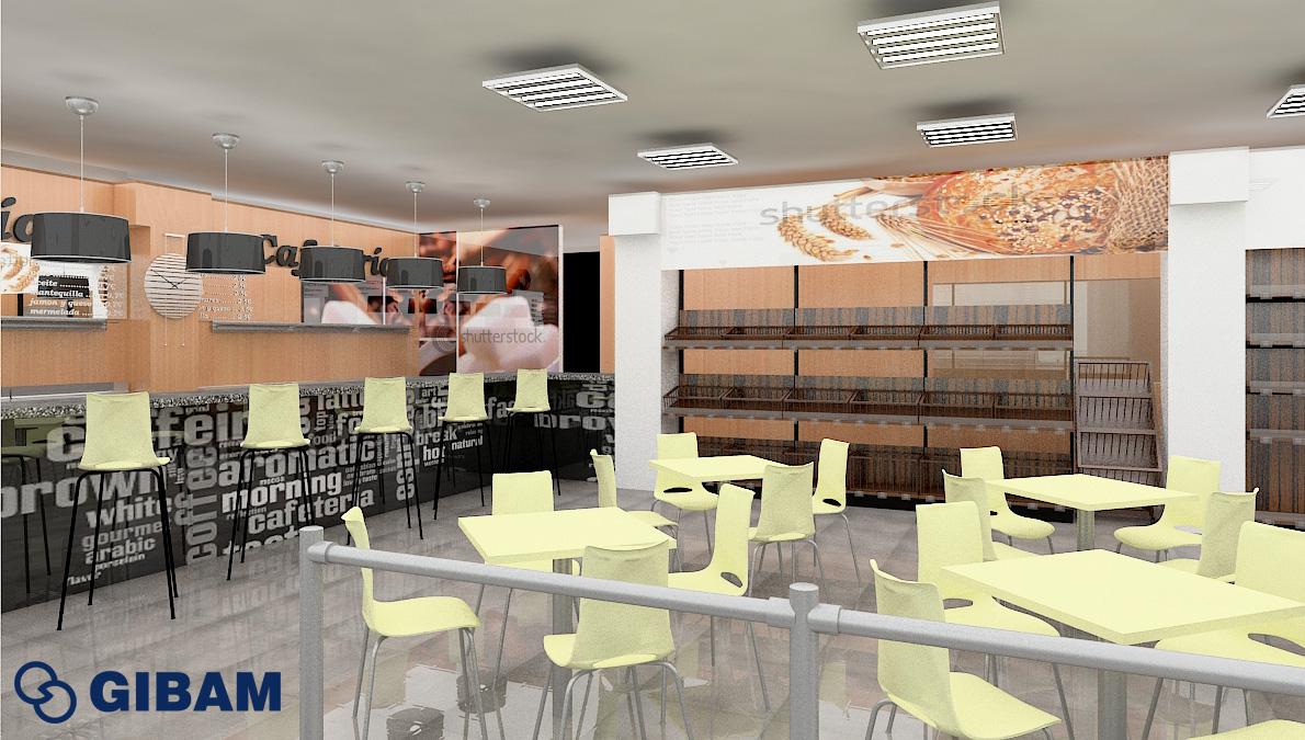 diseño de reforma de un local comercial