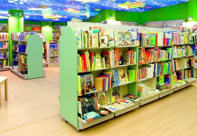 Mobiliario para Librerías y Papelerías