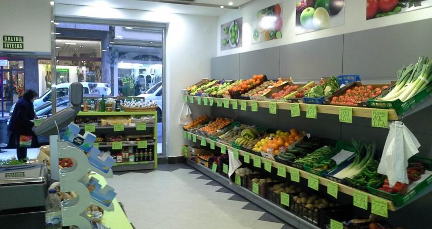 Proyecto mobiliario tienda fruter a guipuzcoa for Decoracion de fruterias