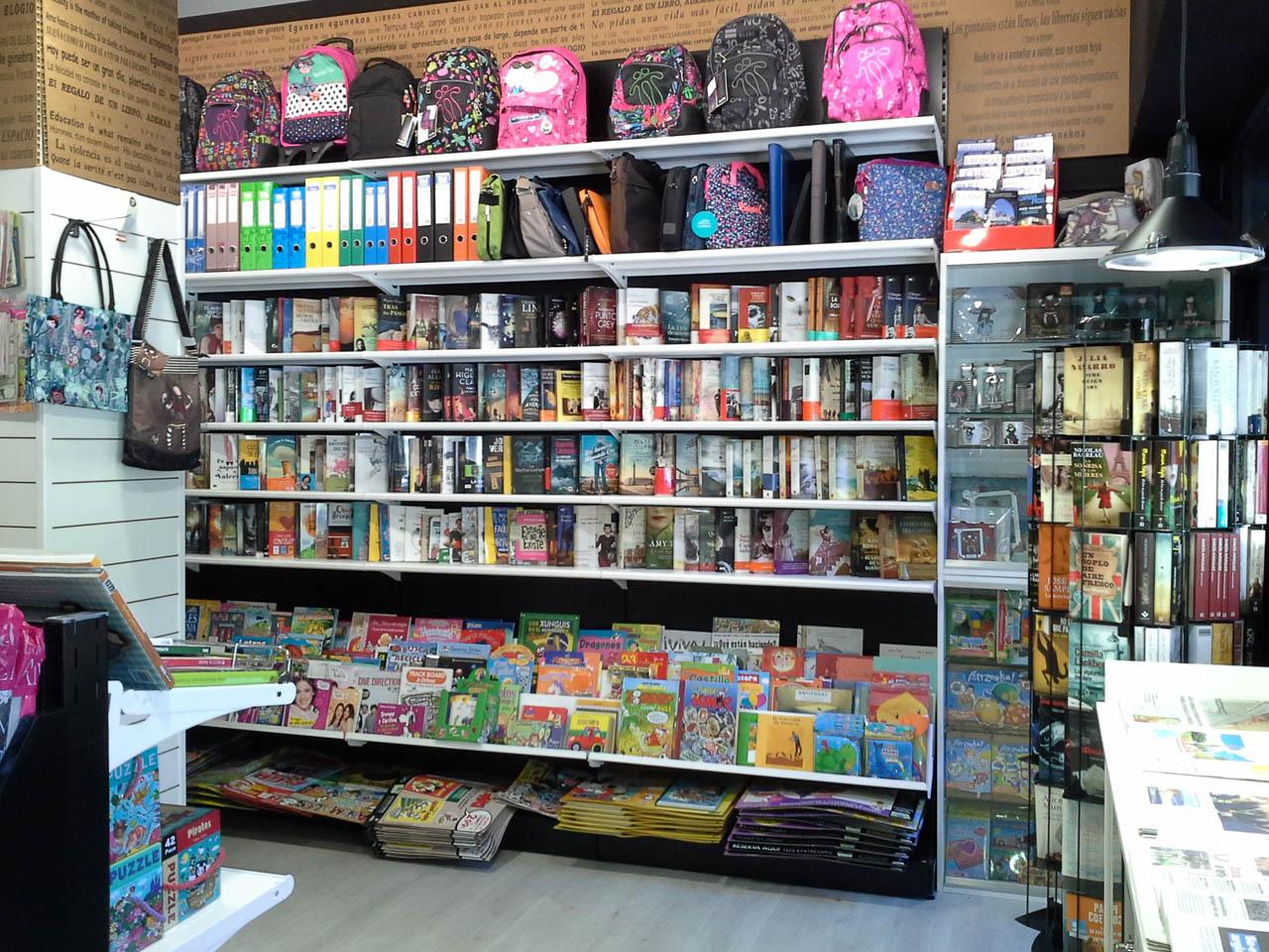 Mobiliario para librer as papeler as y bibliotecas - Mobiliario para libreria ...