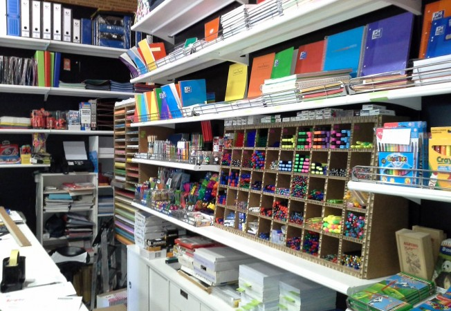 Mobiliario para librer as papeler as y bibliotecas panatta for Muebles para papeleria