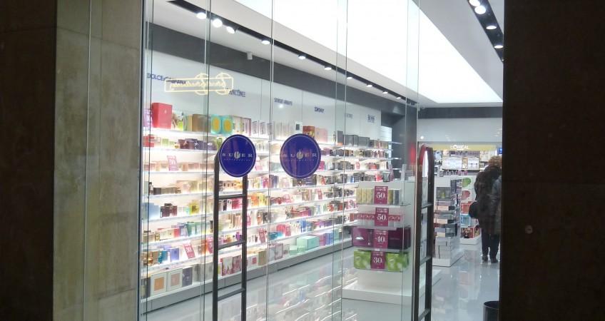 Entrada Perfumería Super en Tudela - País Vasco
