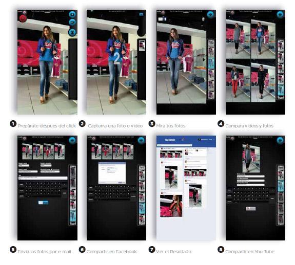 Digital Mirror Espejo Digital Fashion Moda Ropa