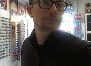 El primer cliente en utilizar mi Digital Mirror en la Óptica
