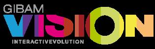 Logotipo GibamVision - Pizarra Interactiva para tiendas