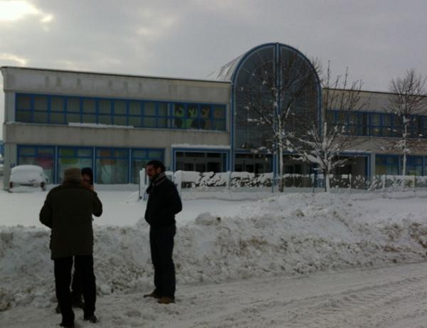 Gruppo Gibam cubierto de nieve hoy