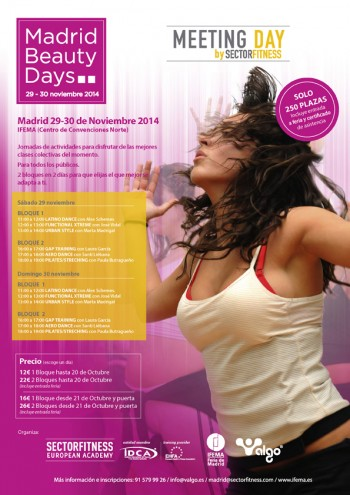 Evento Belleza Meeting Day Madrid Beauty Days 2014