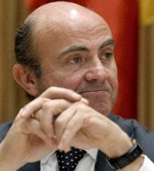 El ministro de Economía y Competitividad, Luis de Guindos | Artículo Gibam